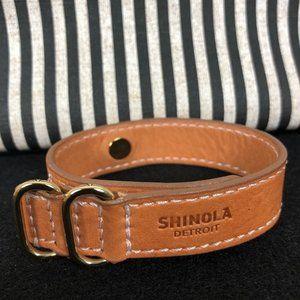 NWOT Shinola Leather Bracelet
